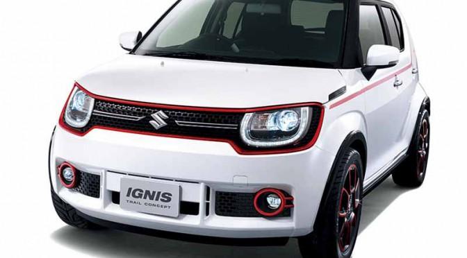 スズキ、北京で「イグニス」ベースのコンセプトカーを海外初公開