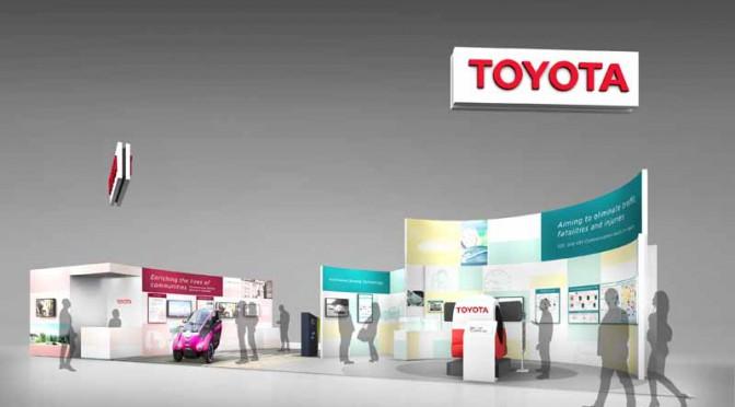トヨタ自動車、『第22回ITS世界会議ボルドー2015』に出展