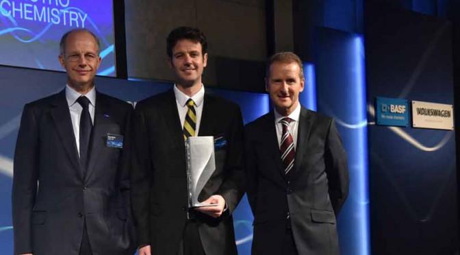 BASFとVW、第4回「サイエンスアワードエレクトロケミストリー」の受賞式典を開催