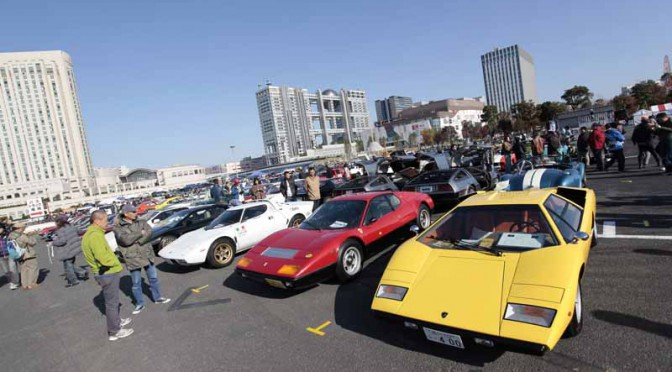 旧車の祭典、お台場旧車天国11月22日開催