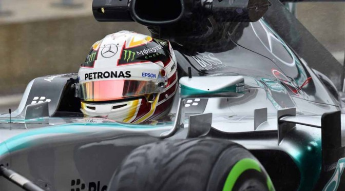 F1アメリカGP、ハミルトン首位で3度目のワールドチャンピオンに