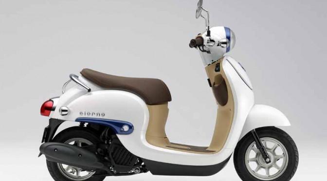 ホンダ、国内生産移管の新スクーター「ジョルノ」販売開始