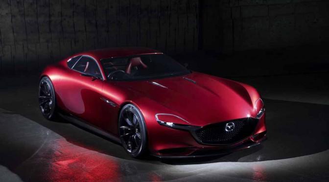 マツダ、コンセプトモデル「Mazda RX-VISION」を世界初公開