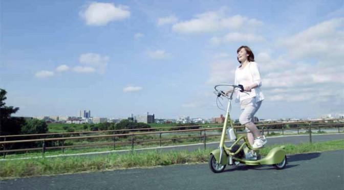 電動アシスト三輪車「ウォーキングバイシクル」体験試乗、表参道で開催中