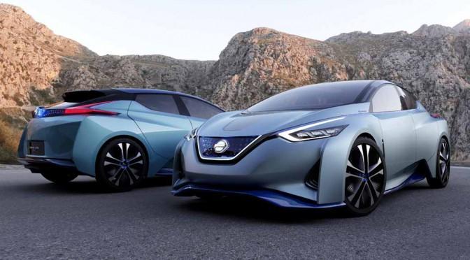 日産、自動運転を具現化する未来のEV「Nissan IDS Concept」公開