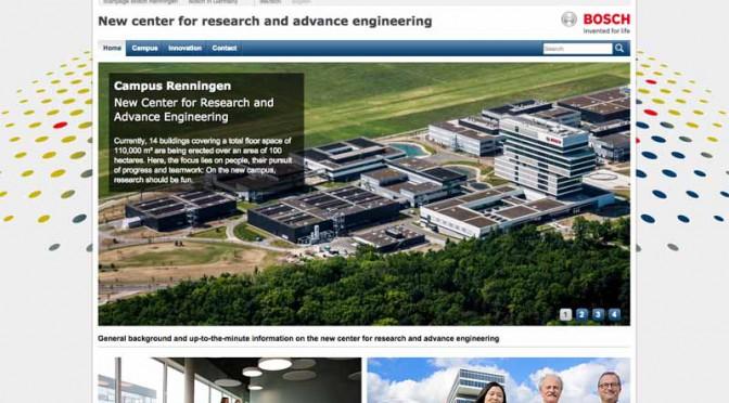 独・レニンゲンのボッシュ研究センターが正式オープン