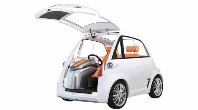 STYLE-D、東京モーターショーにマグネシウム発電地対応の小型車出展