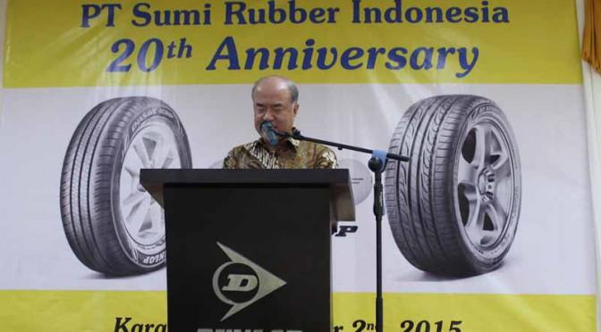 住友ゴム工業傘下のスミラバーインドネシアが設立20周年記念式典を開催