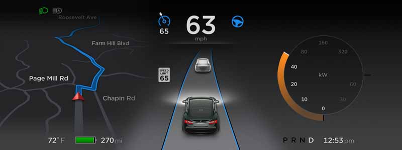 tesla-and-start-a-new-step-towards-automatic-operation-function-implementation20151017-11