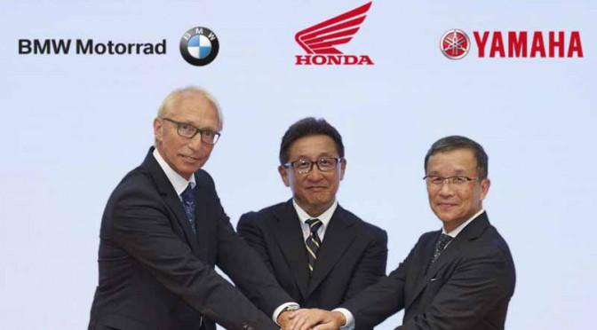 2輪メーカー3社、安全性の大幅向上を目指してC-ITS車載機実用化で協力