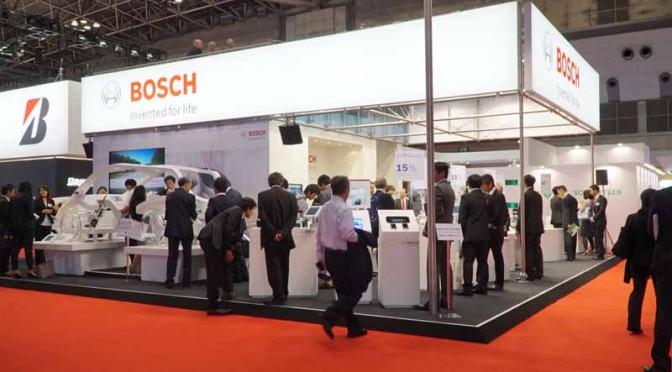 ボッシュ、東京モーターショー2015で48Vシステムと自動運転技術を訴求
