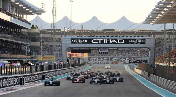 F1最終戦2015アブダビGP、ロズベルグが3連勝を飾る