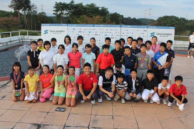fuji-heavy-industries-the-special-cooperation-in-christmas-golf-event-of-shigeki-maruyama-junior-foundation20151104-2