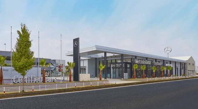 メルセデス・ベンツ正規販売店「メルセデス・ベンツ豊橋」移転・新装オープン