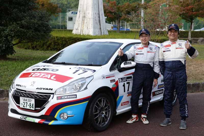 peugeot-208-gti-5-place-finish-in-the-all-japan-rally-championship-final-round20151105-2