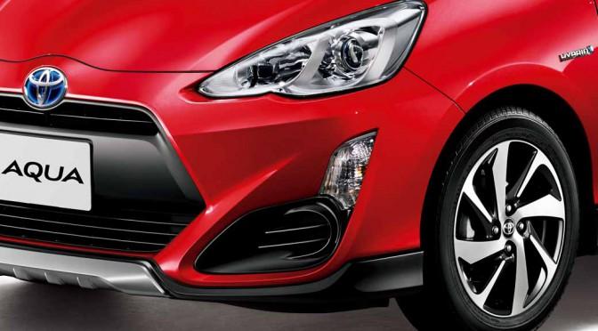 トヨタ、アクアに「Toyota Safety Sense C」を設定
