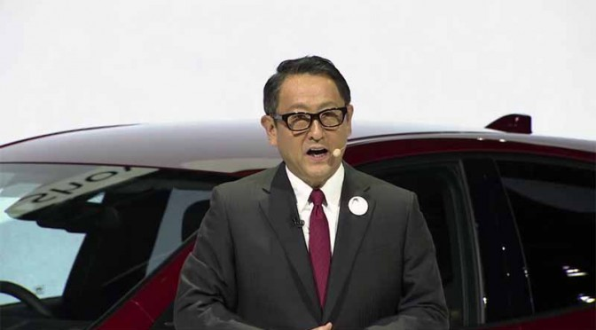 トヨタ、第44回東京モーターショー2015・プレスブリーフィング