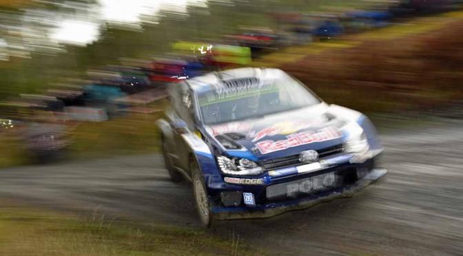 VW、世界ラリー選手権(WRC)で12勝目獲得。オジェが第13戦ウェールズを制す