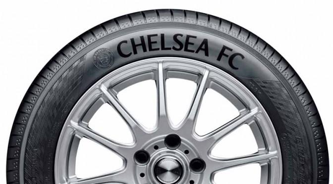 横浜ゴム、チェルシーFCロゴ入りのパートナーシップ記念タイヤを発売