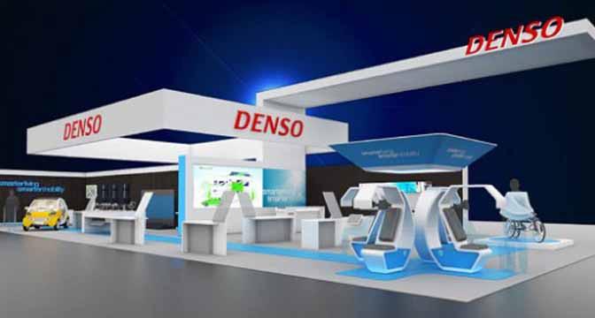 デンソー、2016 International CES国際家電ショーに出展