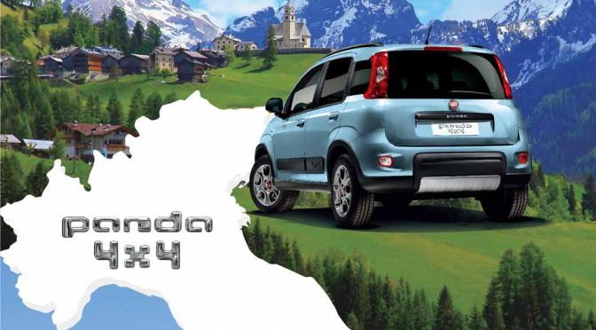 FCAジャパン、四駆限定車「Fiat Panda 4x4 Terra(テッラ)」発売