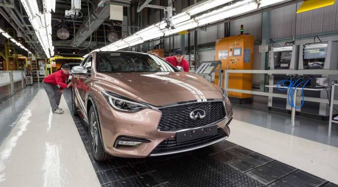インフィニティ、英国サンダーランド工場で欧州初の「Q30」を生産へ