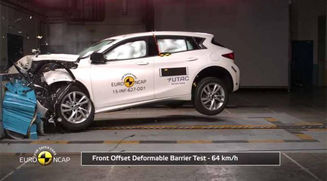 インフィニティ「Q30」 、ユーロ NCAPで最高ランクを獲得