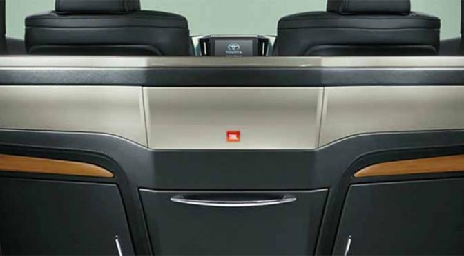 JBLのプレミアムサウンドシステムが、モデリスタのコンプリート車に搭載