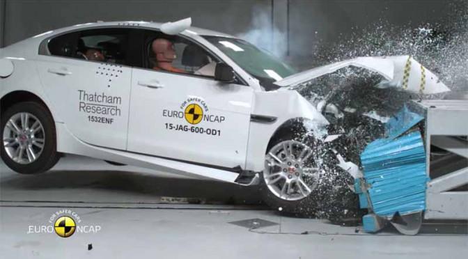 ジャガーの新型2モデルがユーロNCAPで最高レベルの5つ星を獲得