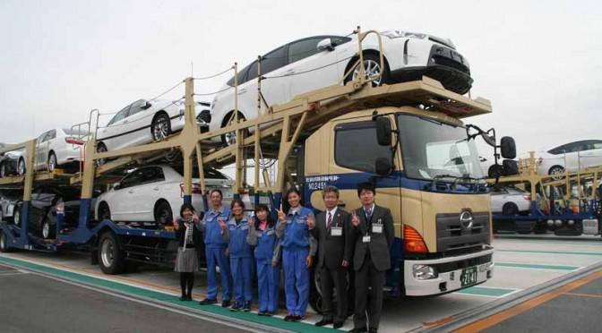 トヨタ輸送、5月6日(金)より九州地区全域での輸送業務を再開