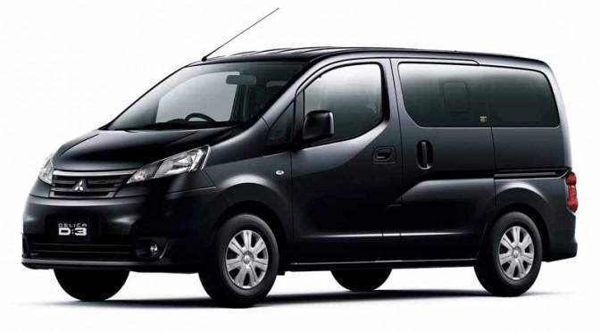 三菱自動車、5ナンバーミニバン「デリカD:3」と小型商用車「デリカバン」を一部改良