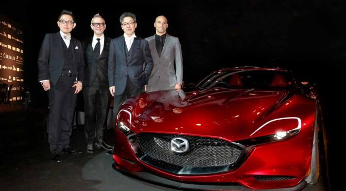 「Mazda RX-VISION」がフランスで最も美しいコンセプトカーに選出される