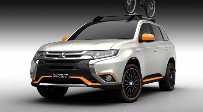 三菱自動車、大阪オートメッセ2016に「アウトランダーPHEV」と「デリカD:5」を出品