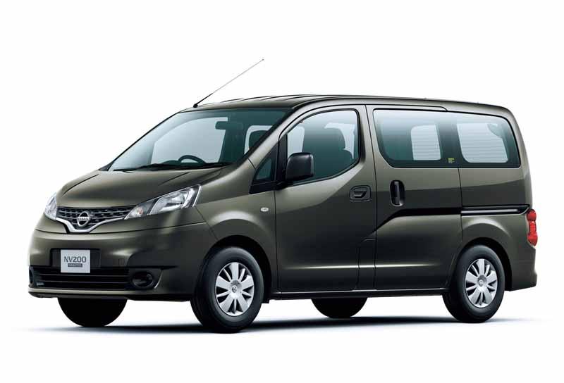 日産自動車の商用ミニバン、NV200バネット バン GX