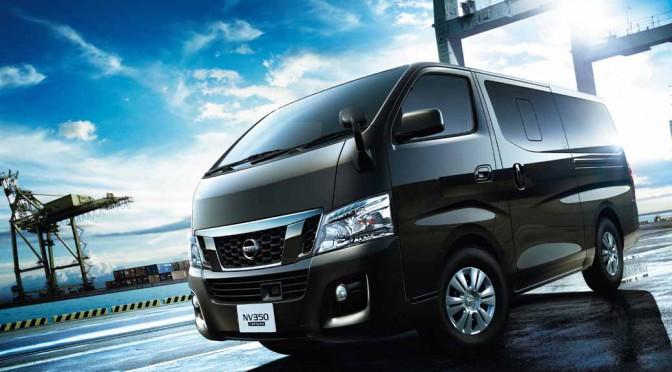 日産自動車「フィッシングショーOSAKA2016」にNV350キャラバン出展