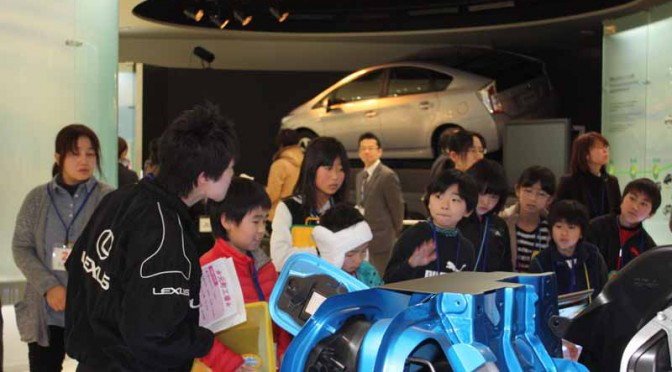 トヨタ自動車「第43回聾学校トヨタ見学会」を開催