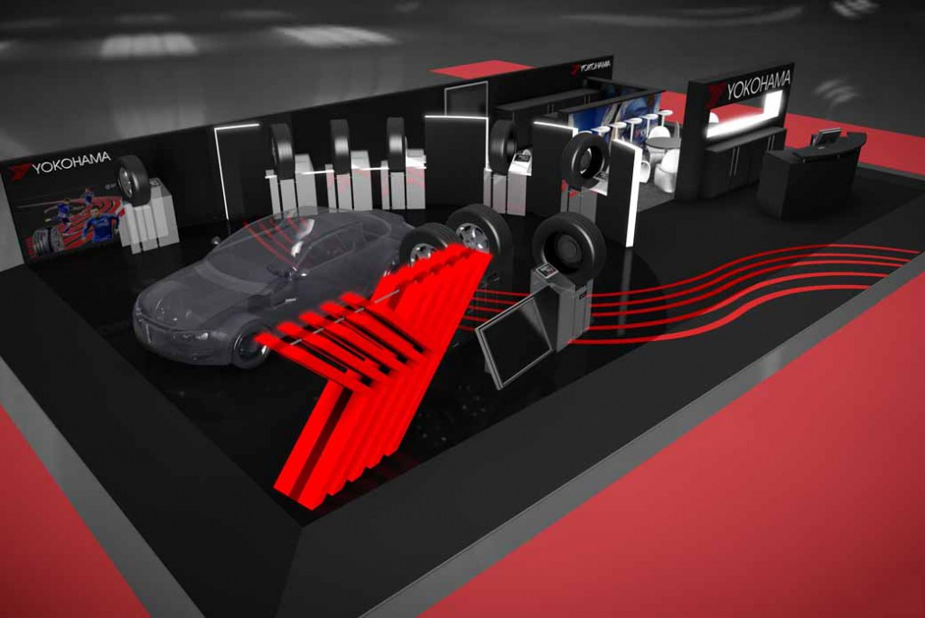 Exhibitors Yokohama Rubber, the Geneva Motor Show 2016-1