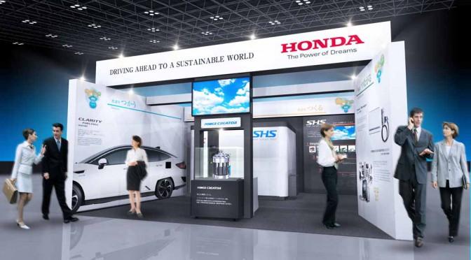 ホンダ、FC EXPO2016に出展 、水素利用システムの自社先進性をアピール
