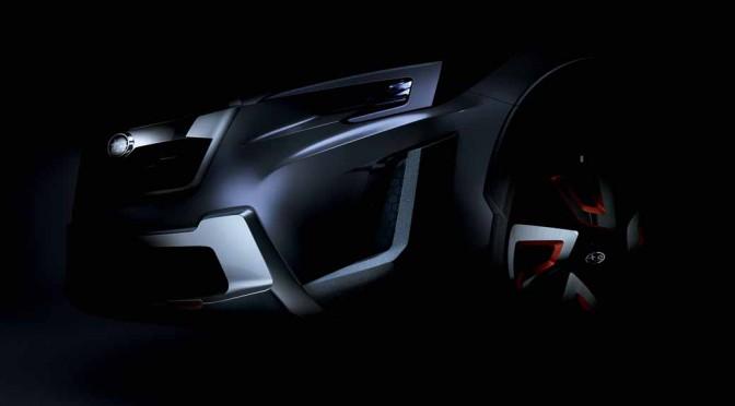 スバル、2016年ジュネーブ国際モーターショーに「SUBARU XV CONCEPT」を出展