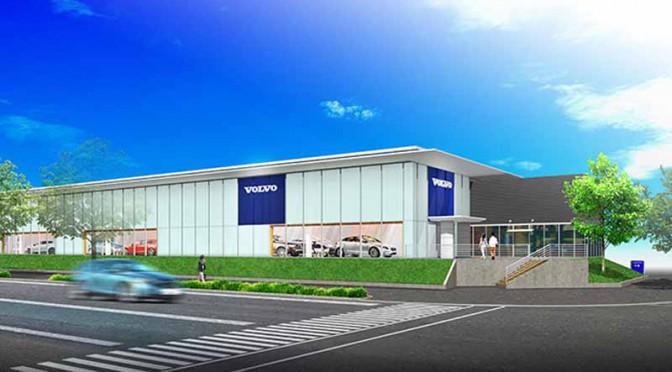 「ボルボ・カー千葉中央」、新ショールームCIを採用しリニューアルオープン