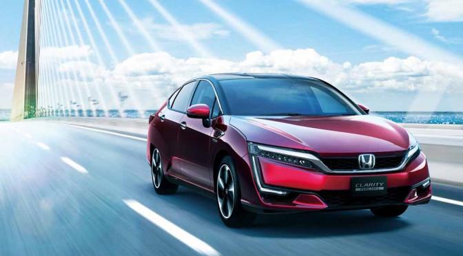 ブリヂストンのECOPIA、ホンダの新型燃料電池自動車クラリティFUEL CELLに新車装着
