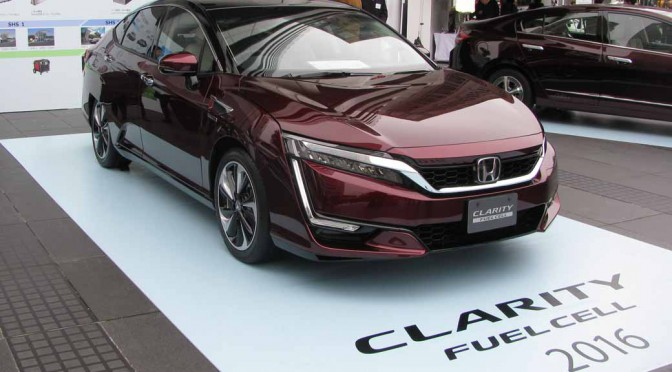 ホンダ、燃料電池自動車「CLARITY FUEL CELL」のタクシー運用を全国4拠点で開始