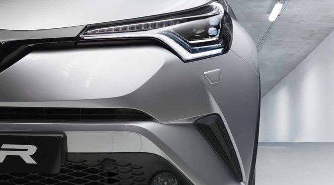 トヨタ、ジュネーブモーターショーで市販型の「TOYOTA C-HR」を初披露