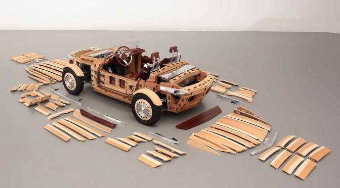 トヨタ、ミラノデザインウィーク2016に出展する木製コンセプトカーの全容公開