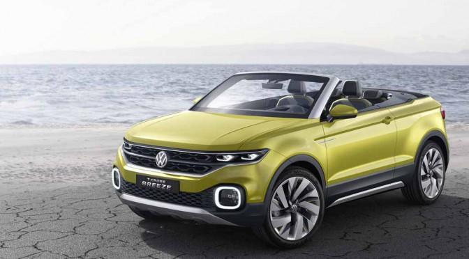 VW、ジュネーブ国際モーターショーで「T-Cross Breeze」世界初披露