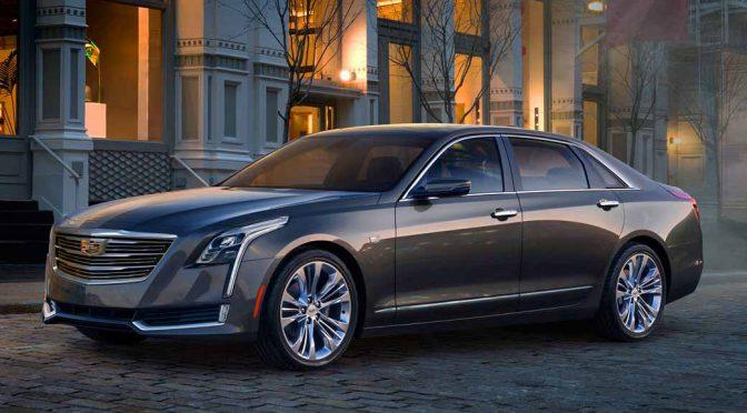 GM、新型旗艦モデル「キャデラックCT6」を発表。ラグジュアリーの新たな価値を再定義