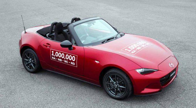 「マツダ ロードスター」が累計生産100万台を達成