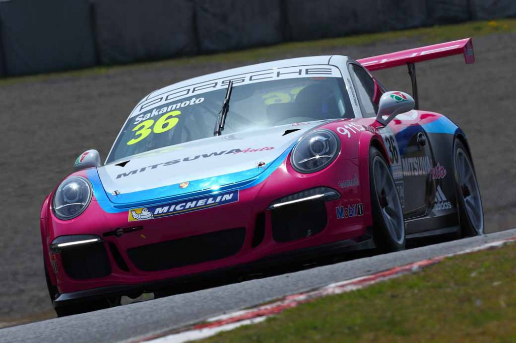 porsche-carrera-cup-japan-2016-first-and-two-races-tsubasa-kondo-two-game-winning-streak20160410-2