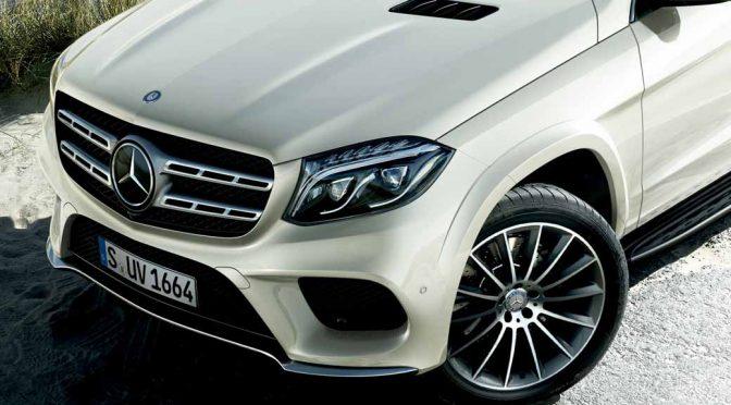 メルセデスの最上級SUV「GL」が「GLS」として刷新