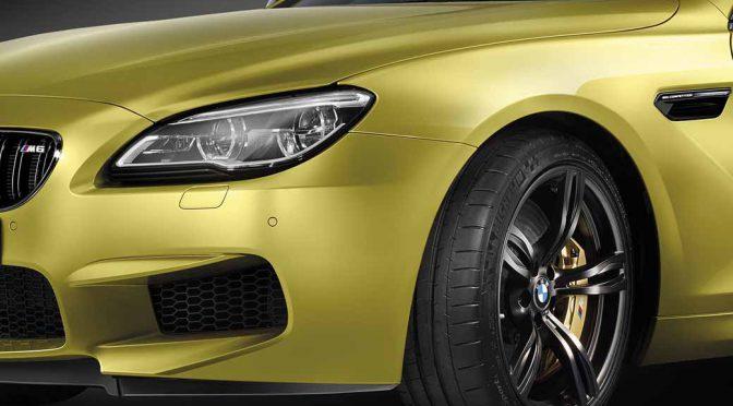 BMW Mの13台限定車「BMW M6セレブレーション・エディション・コンペティション」発売